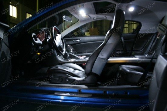 Mazda RX-8 LED Interior Light Package 2