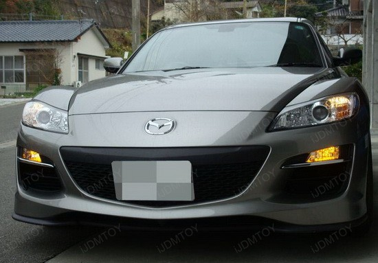 Mazda RX-8 Yellow JDM Fog Lights