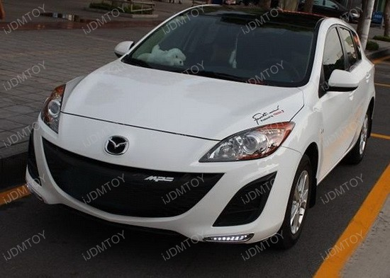 Mazda3 LED Daytime DRL Lights 1