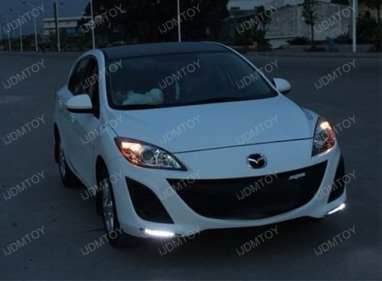Mazda3 LED Daytime DRL Lights 2