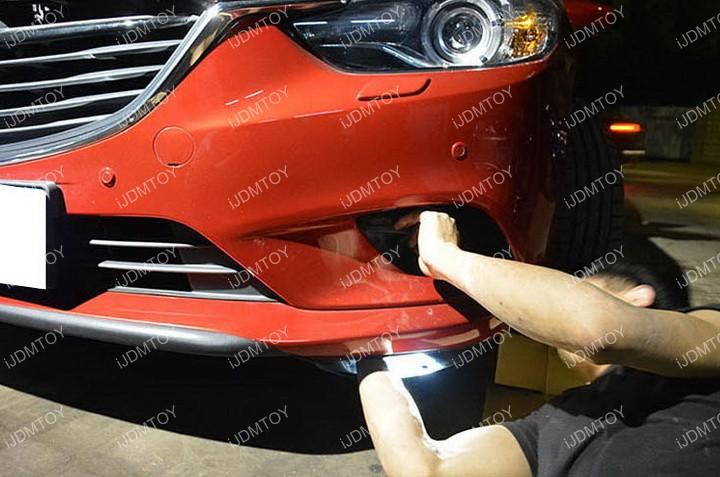 Install-Mazda6-LED-Daytime-Running-Light 04