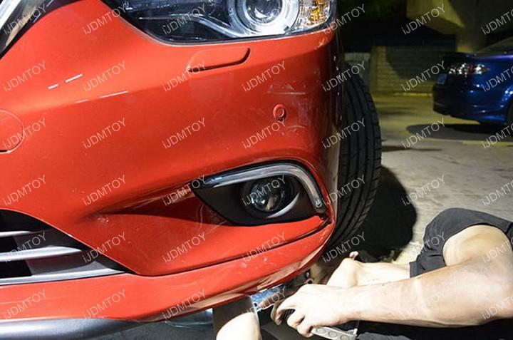 Install-Mazda6-LED-Daytime-Running-Light 07
