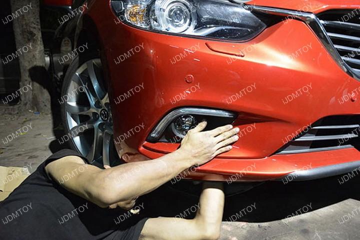 Install-Mazda6-LED-Daytime-Running-Light 08