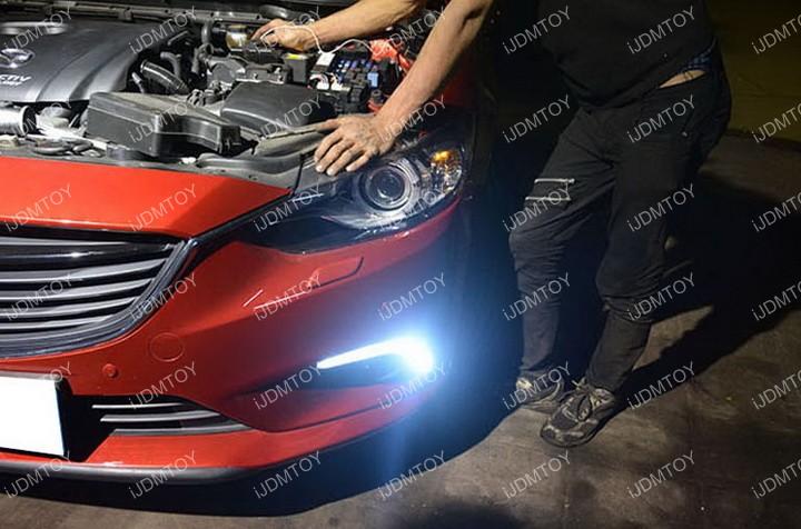 Install-Mazda6-LED-Daytime-Running-Light 10