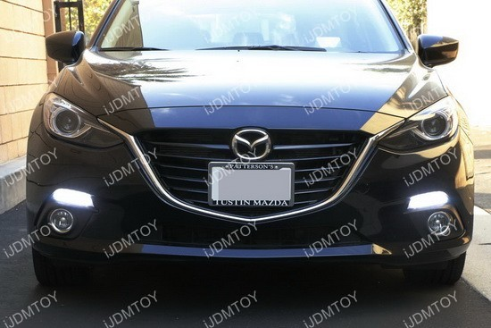 Mazda 3 LED DRL turn signal Installation 17