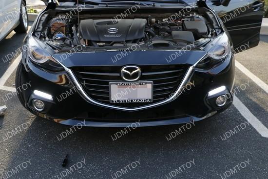 Mazda 3 OEM fit LED DRL 01