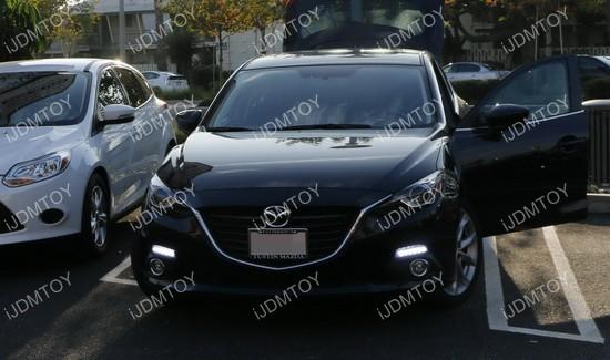Mazda 3 OEM fit LED DRL 02