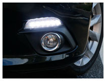 Mazda 3 OEM Fit Switchback LED DRL Installation (For 70-781)