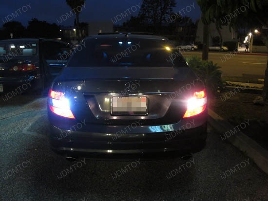 Mercedes C300 W204 C Class LED Reverse Lights 1