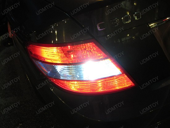 Mercedes C300 W204 C Class LED Reverse Lights 3