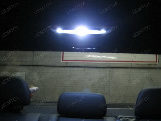Mercedes LED Interior 3