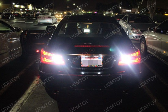 Ijdmtoy car blog led 921 reverse lights on mercedes benz for Led light for mercedes benz