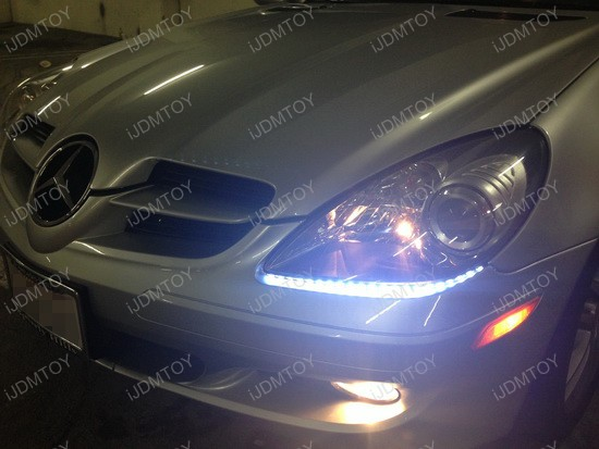 Mercedes-Benz SLK350 LED Headlight Strip 1