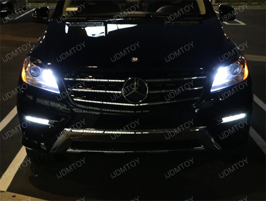 Mercedes LED Parking Lights 01