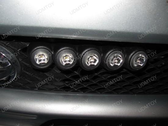 Lexus RX350 9005 CREE LED DRL 4