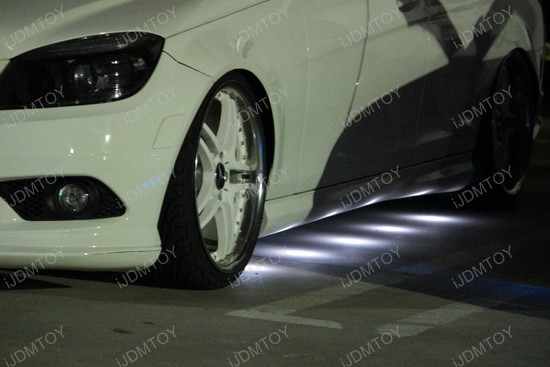 Mercedes W204 C-Class VIP Style LED Puddle Light 3