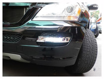 Mercedes Benz ML GL GLK LED DRL Installation