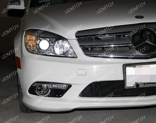 Mercedes Benz C Class LED Daytime Running Lights 01