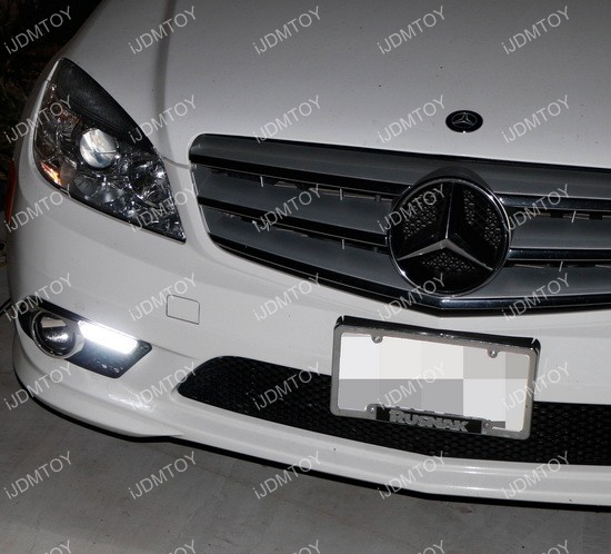 Mercedes Benz C Class LED Daytime Running Lights 03