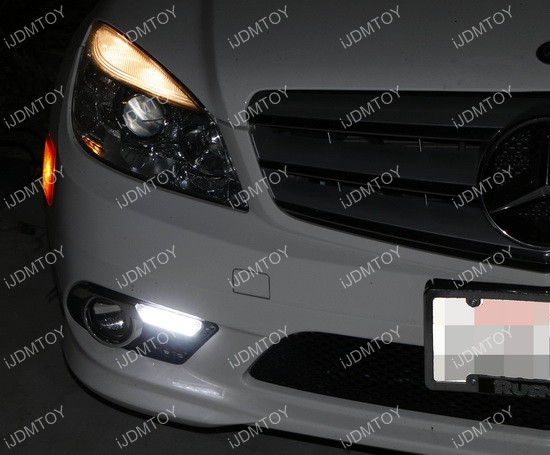 Mercedes Benz C Class LED Daytime Running Lights 05