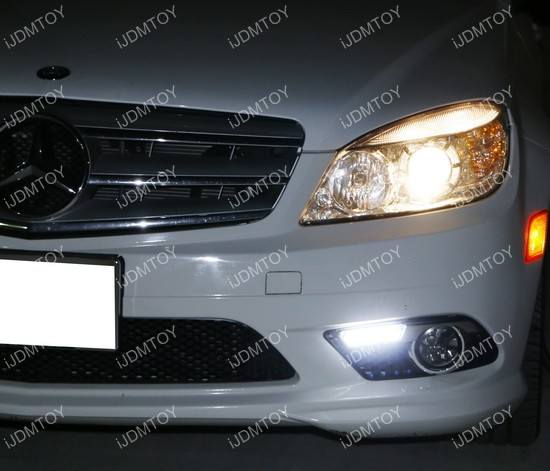 Mercedes Benz C Class LED Daytime Running Lights 06
