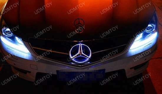 Mercedes Benz LED Grille Emblem 04
