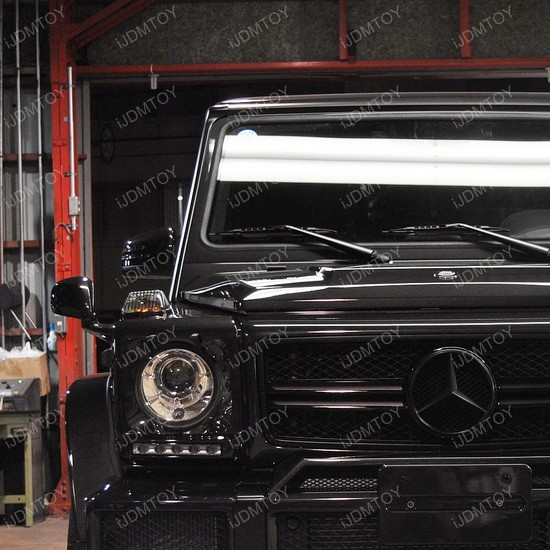Mercedes G Glass LED DRL 01