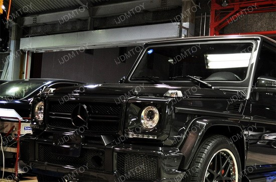 Mercedes G Glass LED DRL 02