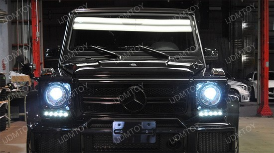 Mercedes Benz G-Class Direct Fit LED Daytime Running Lights