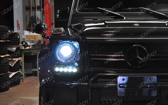 Mercedes G Glass LED DRL 04
