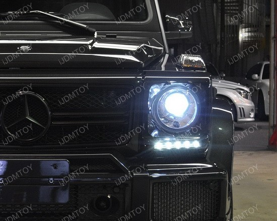 Mercedes G Glass LED DRL 05