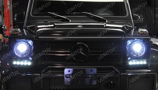 Mercedes G Glass LED DRL 06