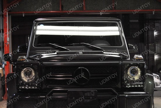 Mercedes G Glass LED DRL 07
