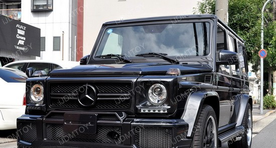 Mercedes G Glass LED DRL 08