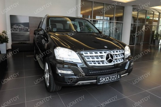 Mercedes ML LED DRL 01