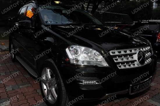 Mercedes ML LED DRL 03