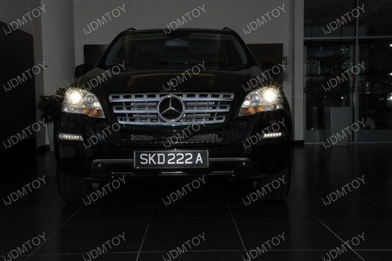 Mercedes ML LED DRL 04