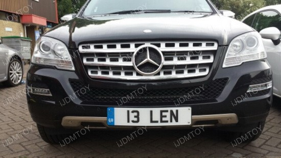 Mercedes ML LED DRL OEM Fit 01