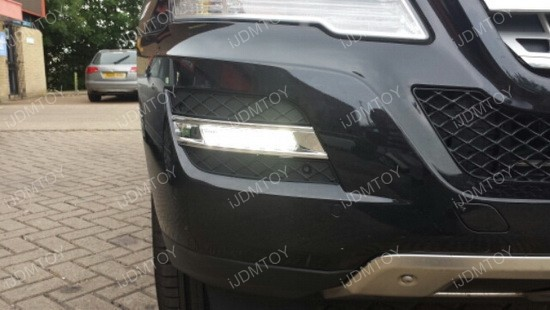 Mercedes ML LED DRL OEM Fit 02
