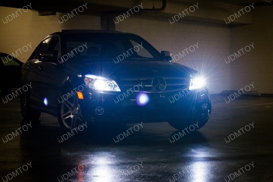 Mercedes W204 LED Parking Lights 01