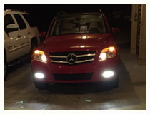 Mercedes Benz GLK OEM Fit LED DRL Installation (For 70-753)