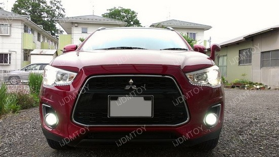 Mitsubishi Outlander LED Fog Lights 01