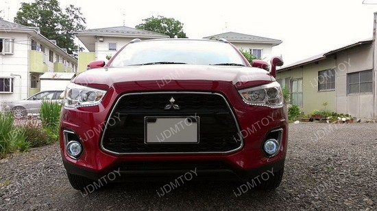 Mitsubishi Outlander LED Fog Lights 02