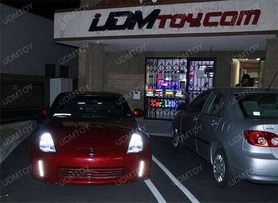 Nissan 350Z Bumper Reflector LED DRL 1