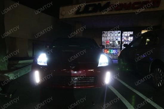 Nissan 350Z Bumper Reflector LED DRL 5