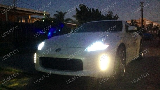 Nissan 370z LED Daytime Running Light Enable Kit 3