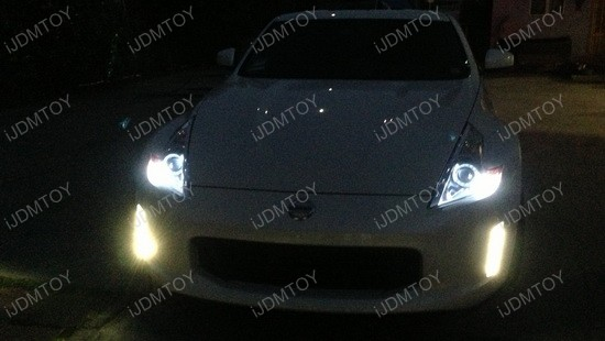 Nissan 370z LED Daytime Running Light Enable Kit 4
