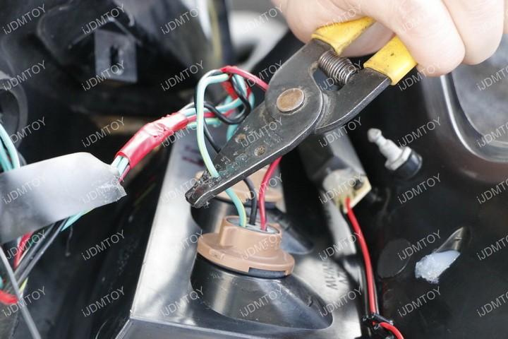 how to install nissan juke nismo led rear fog lights lights