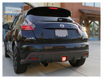 Nissan Juke Nismo LED Rear Fog| Reverse Light Installation