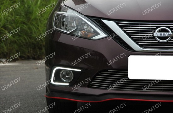 Nissan Sentra LED Daytime Running Light 04